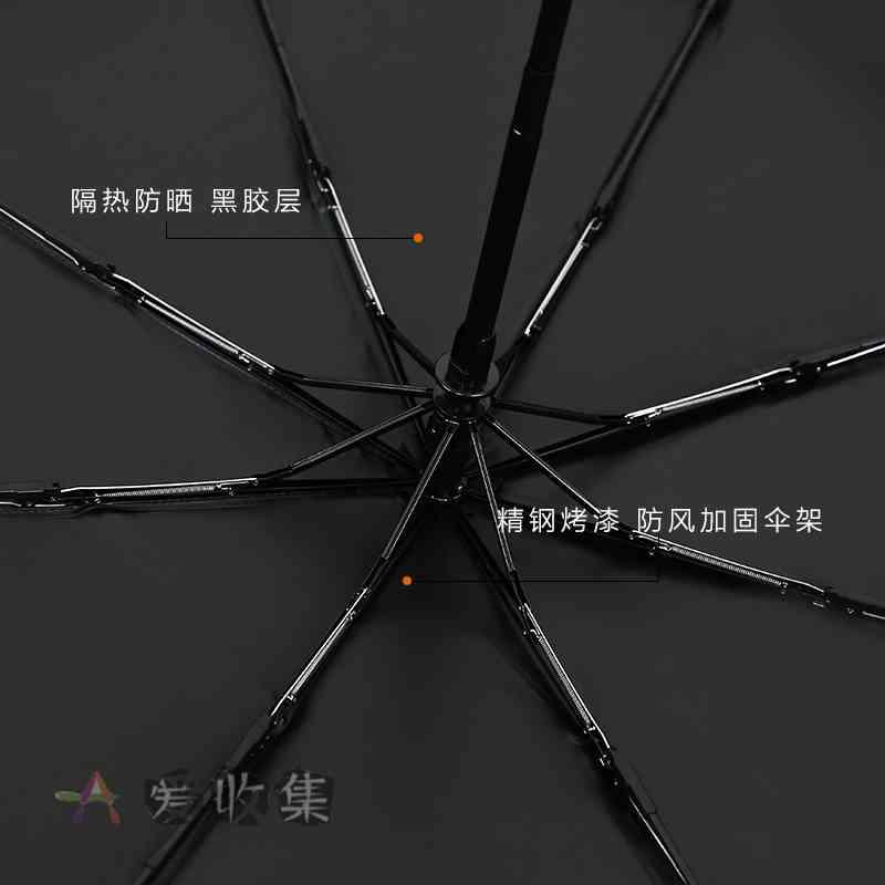夏季必备:晴雨两用折叠伞【9.9包邮】-爱收集-羊毛线报网